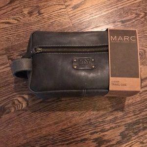 Marc NY Leather travel case